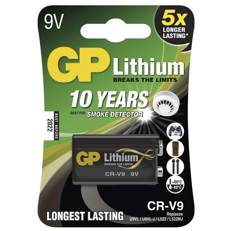 GP baterie lithiová CR-V9, blistr