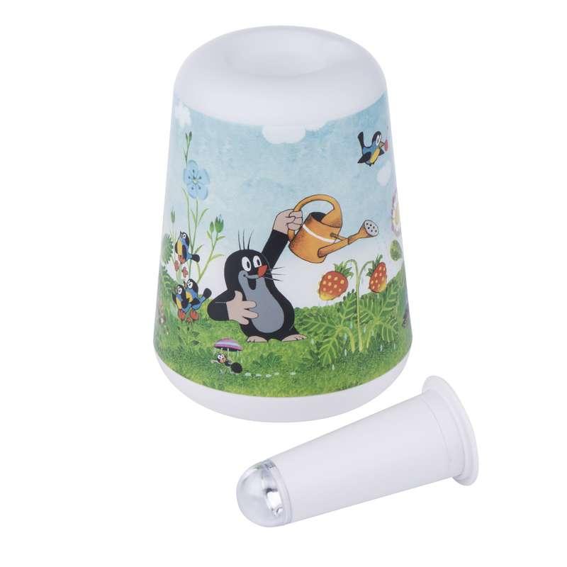 Dětská LED lampa se svítilnou - Krtek