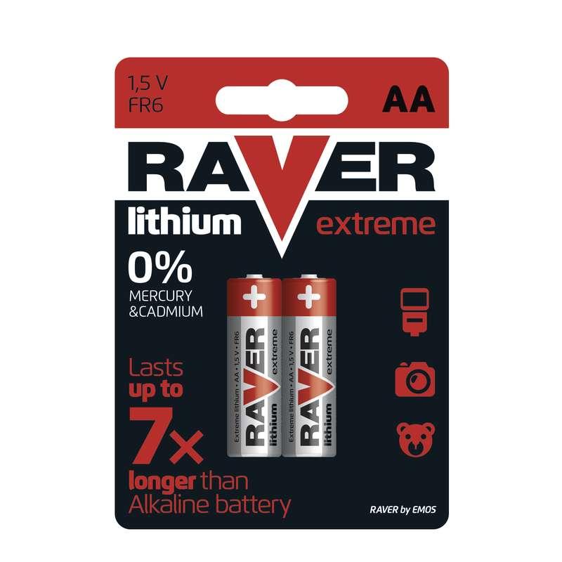 Lithiová baterie RAVER FR6 (AA)