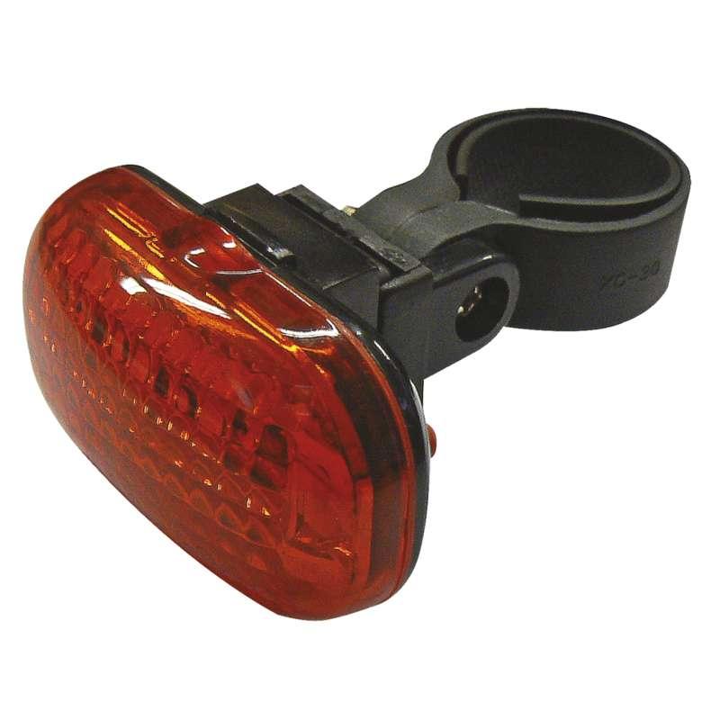 Svítilna na kolo 3x LED, na 2x AAA, zadní