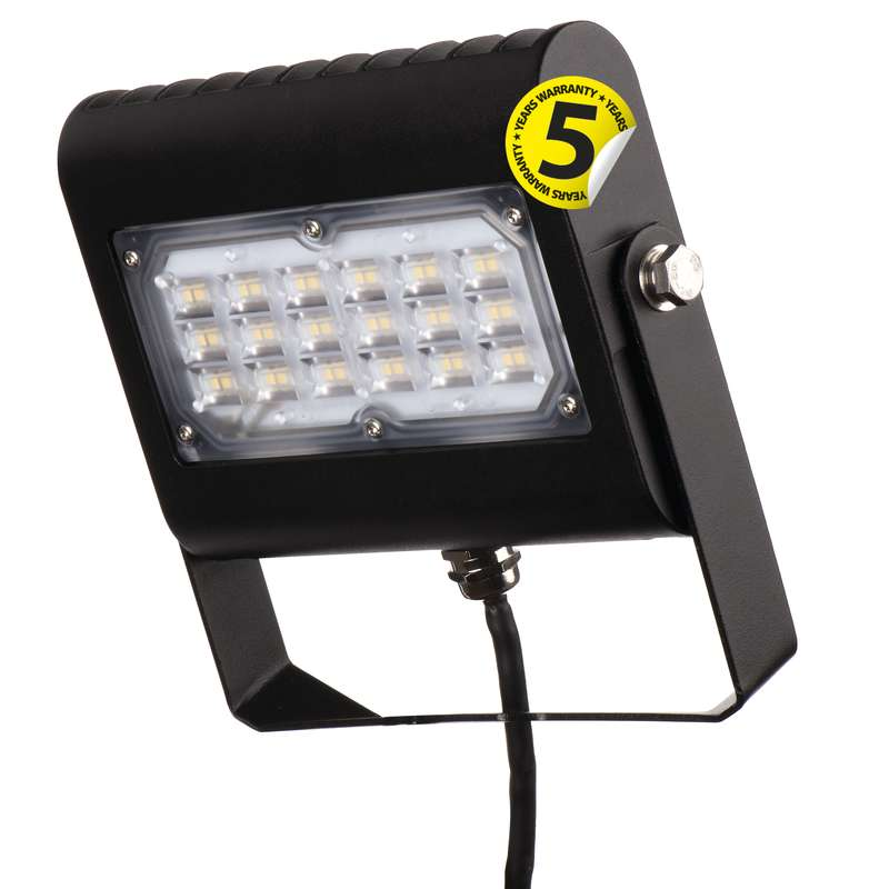LED reflektor PROFI PLUS černý, 30W neutrální bílá