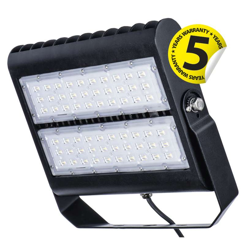 LED reflektor PROFI PLUS 80W neutrální bílá, černý