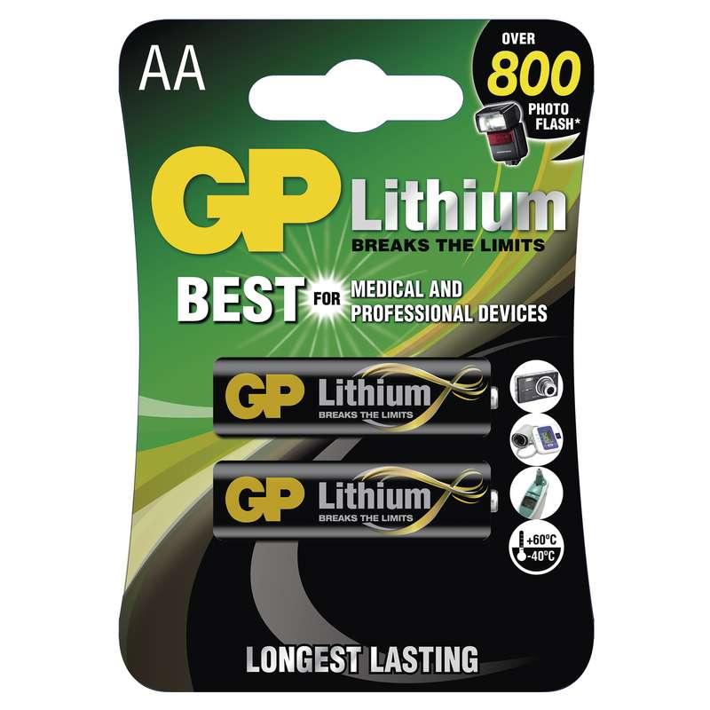 Lithiová baterie GP FR6 (AA)