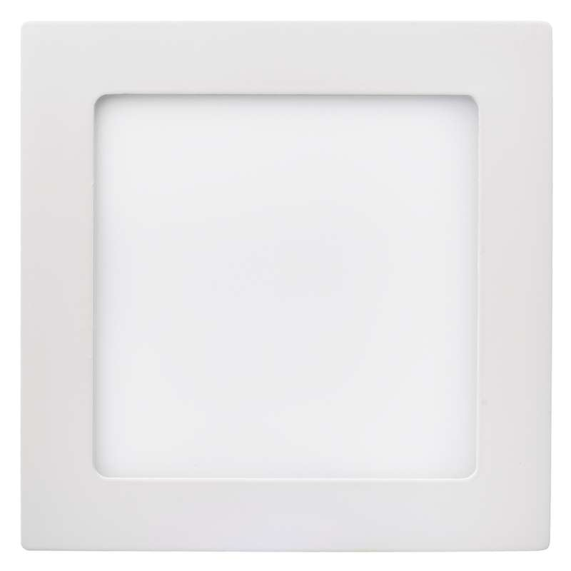 LED panel 170×170, přisazený bílý, 12W teplá bílá