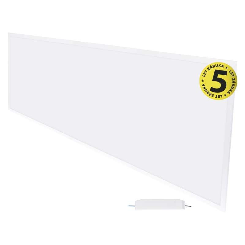 LED panel 30×120, vestavný bílý, 40W neutrální bílá