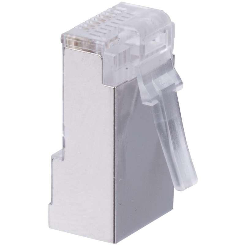 Konektor RJ45 pro FTP kabel (drát) CAT5E