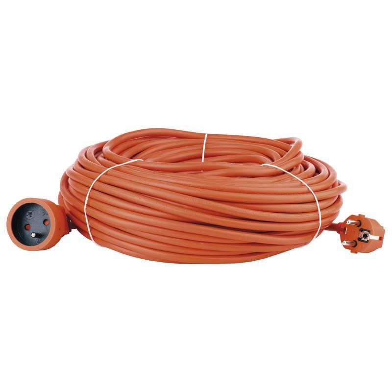Prodlužovací kabel – spojka, 40m, oranžový