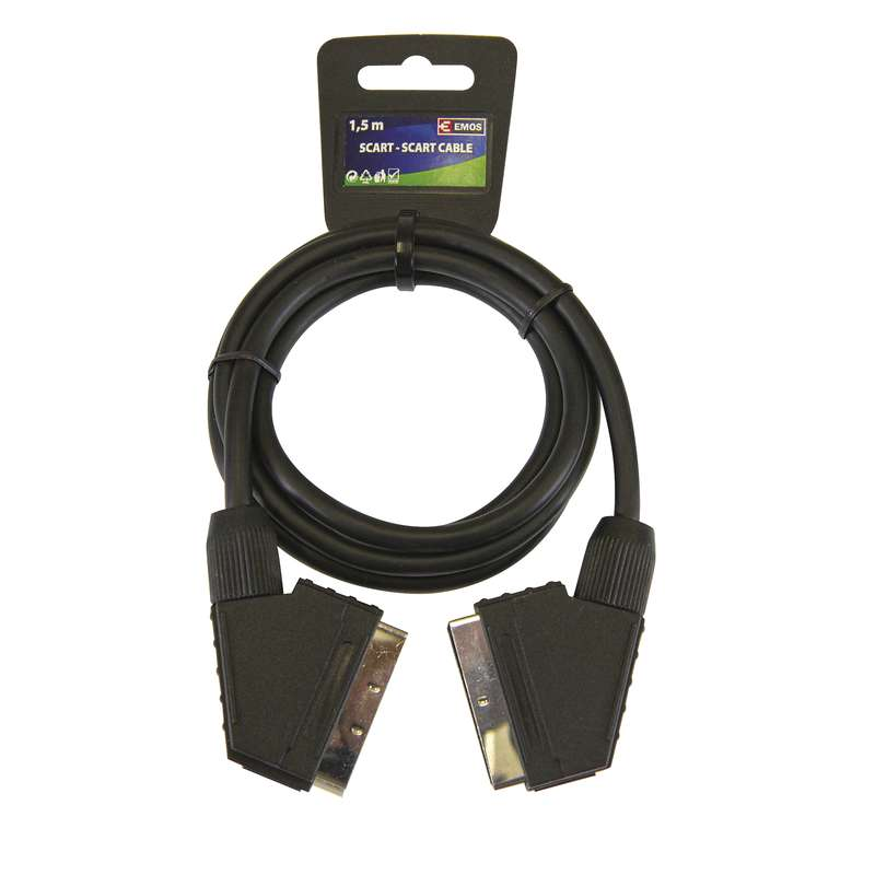 AV kabel SCART - SCART 1,5 m