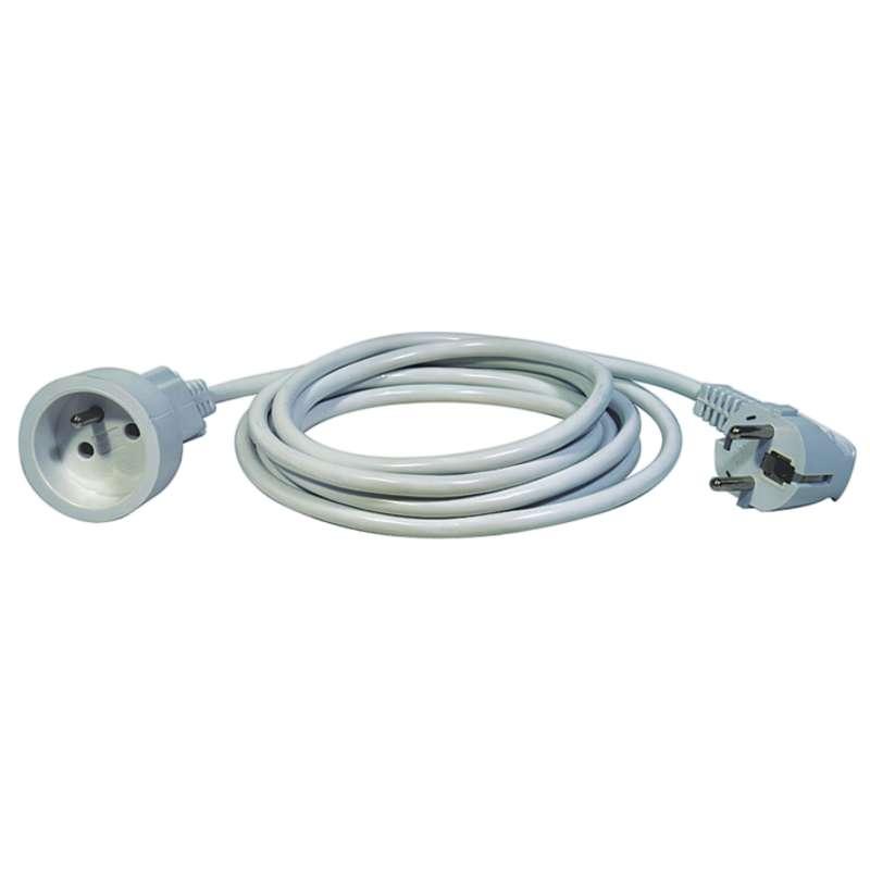 Prodlužovací kabel – spojka, 1,5m, bílý
