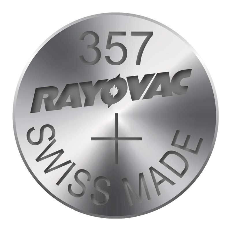 Knoflíková baterie do hodinek RAYOVAC 357 blistr