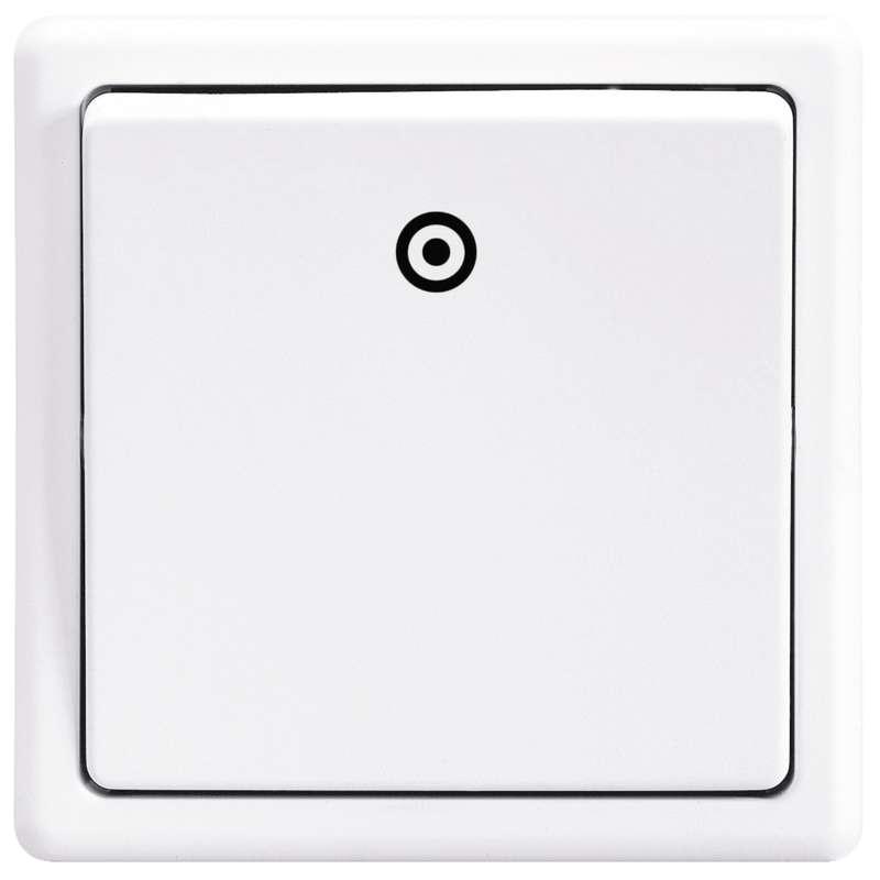 Vypínač CLASSIC, jasně bílý 3553-80289 B1