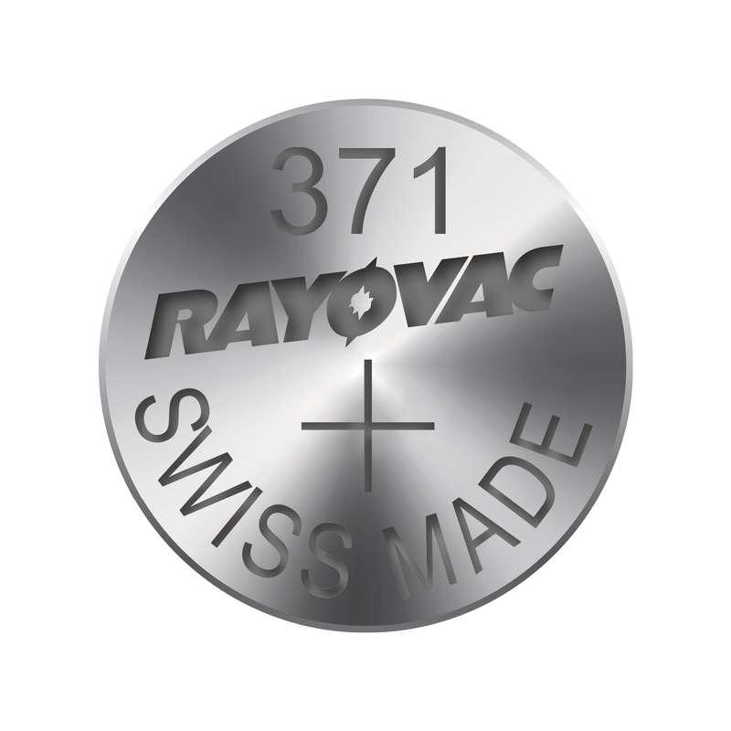 Knoflíková baterie do hodinek RAYOVAC 371 blistr