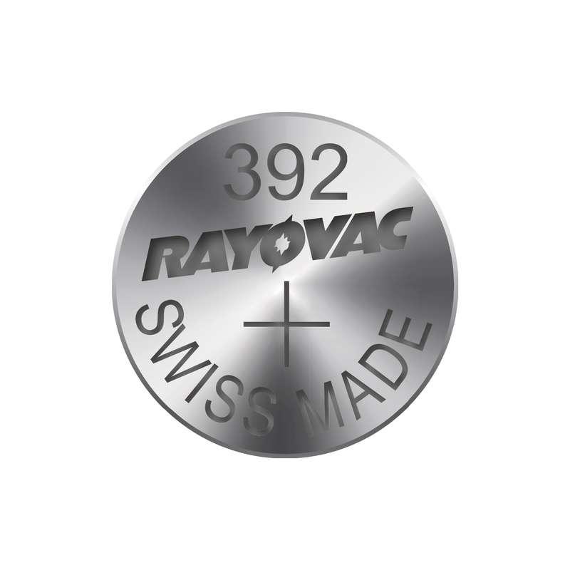 Knoflíková baterie do hodinek RAYOVAC 392, blistr