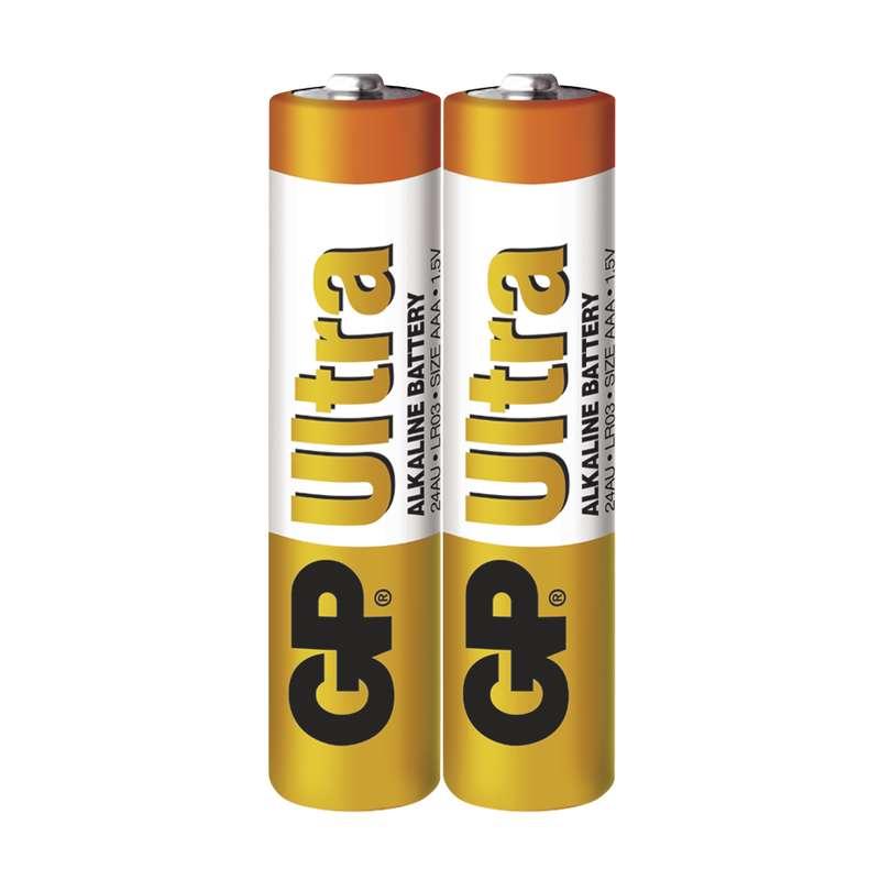 Alkalická baterie GP Ultra LR03 (AAA) fólie