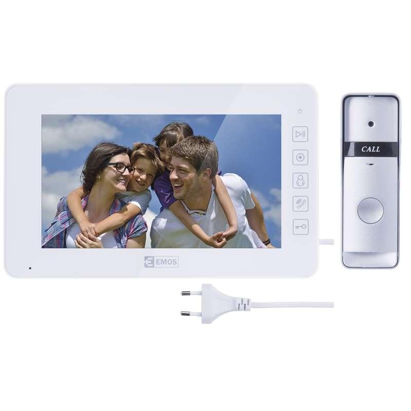 Domácí videotelefon EMOS, barevná sada H2015