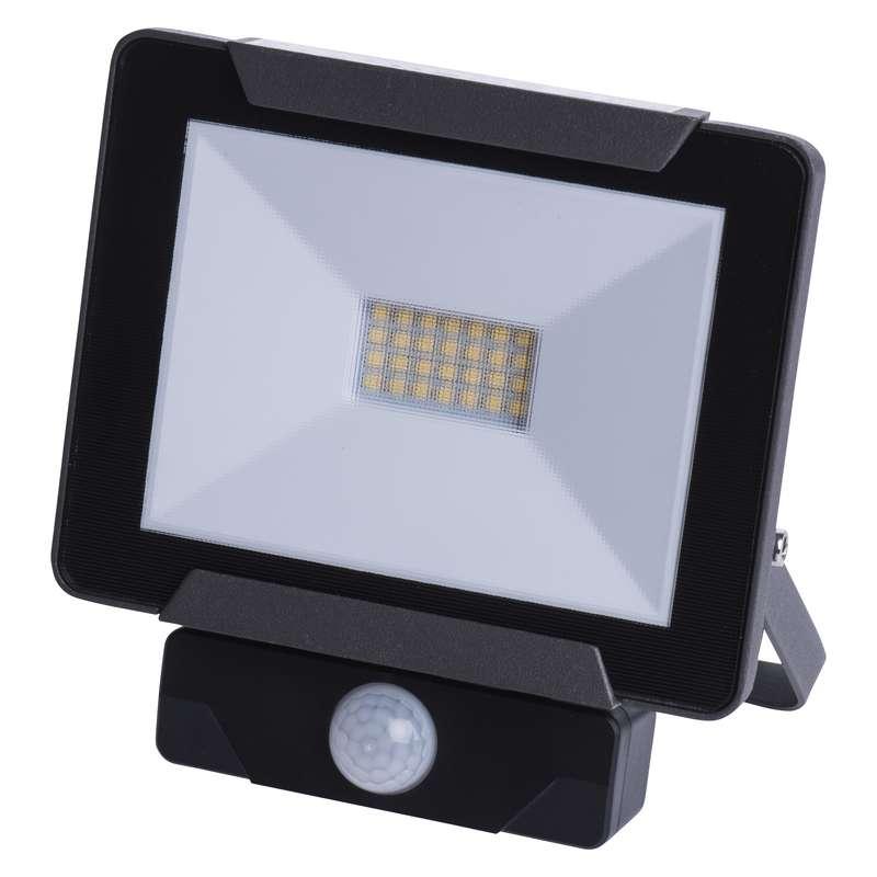 LED reflektor IDEO s PIR, 20W neutrální bílá