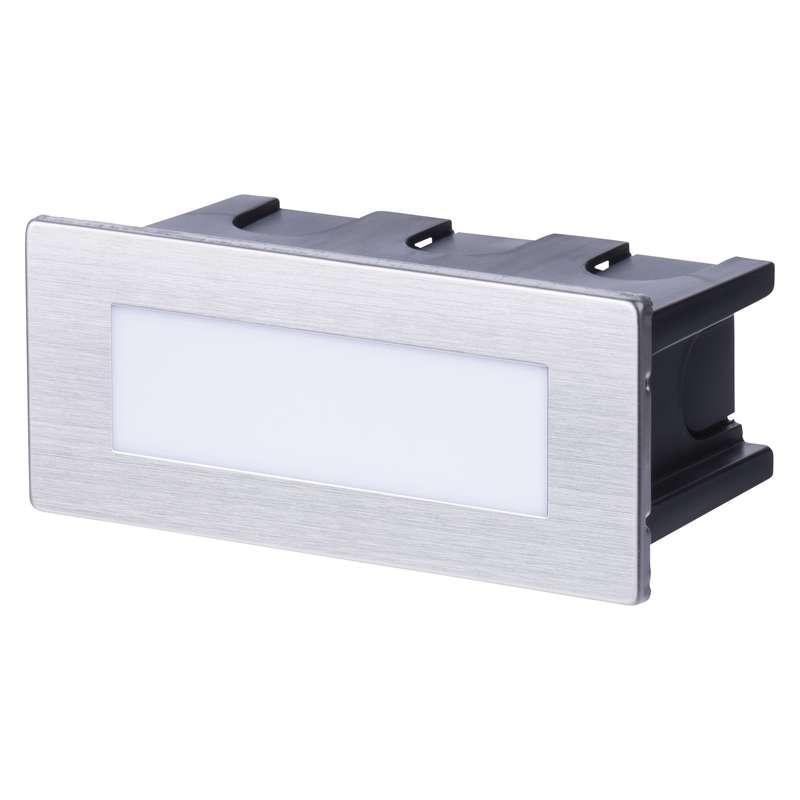 LED orientační vestavné svítidlo 115×70 1,5W neutr.bílá IP65