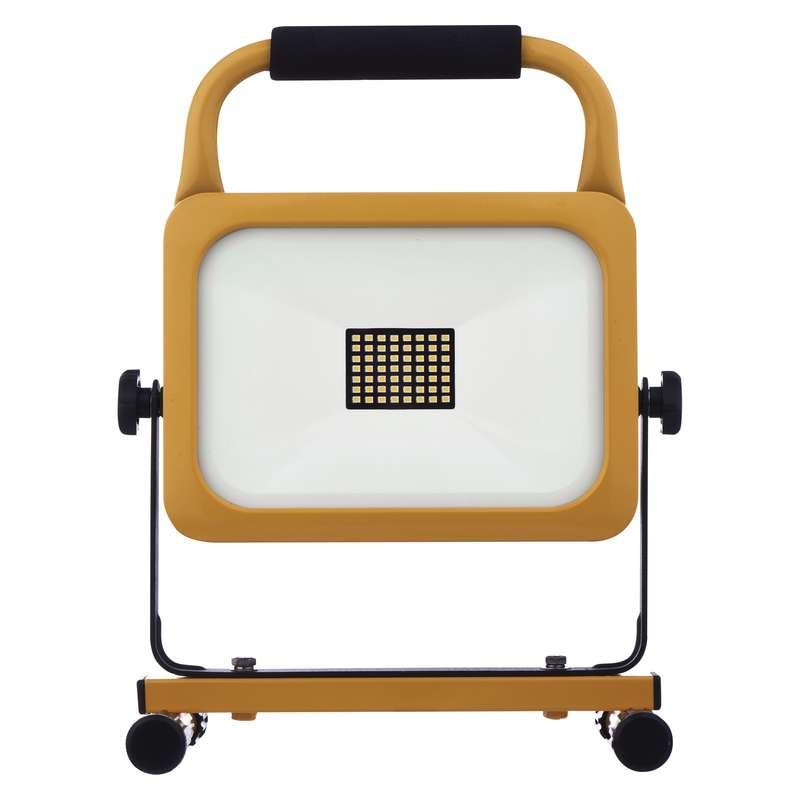 LED reflektor AKU nabíjecí přenosný, 30 W studená bílá