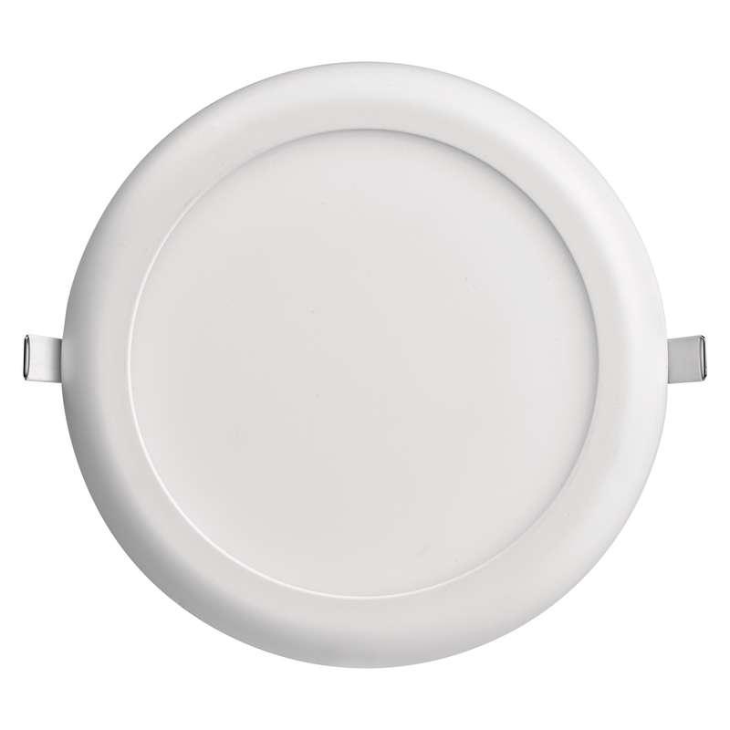 LED panel 230mm,kruhový přisazený/vestavný bílá,18W teplá b.