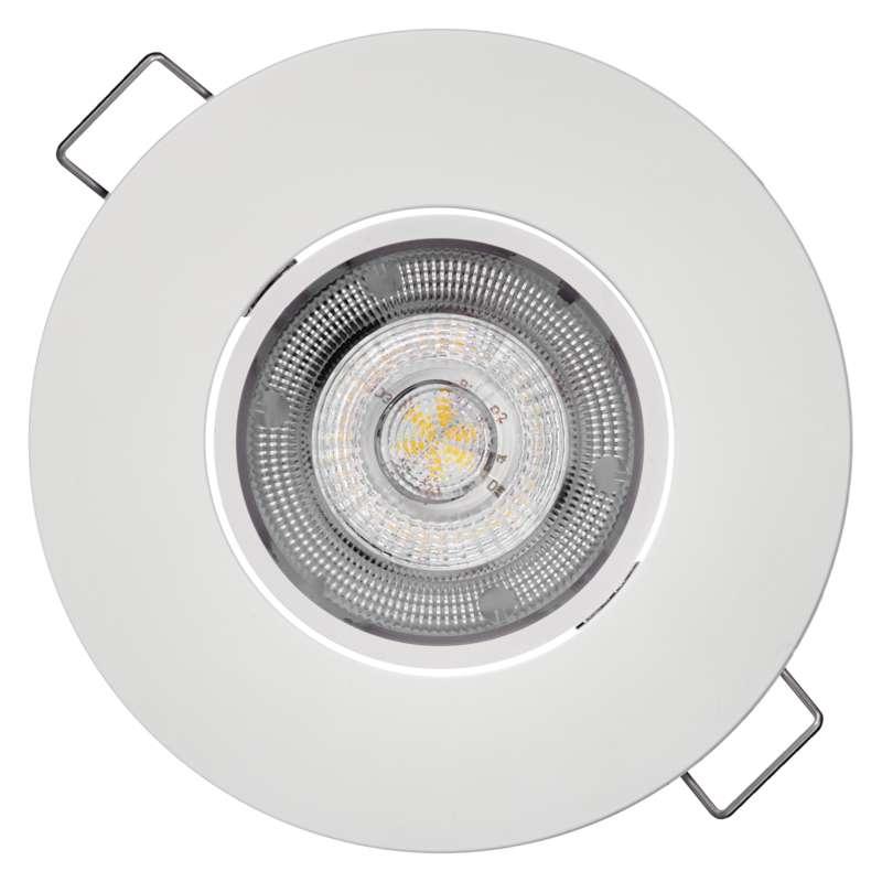 LED bodové svítidlo Exclusive bílé, 8W neutrální bílá