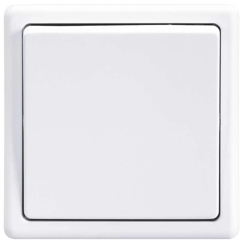 Vypínač CLASSIC, jasně bílý 3553-01289 B1