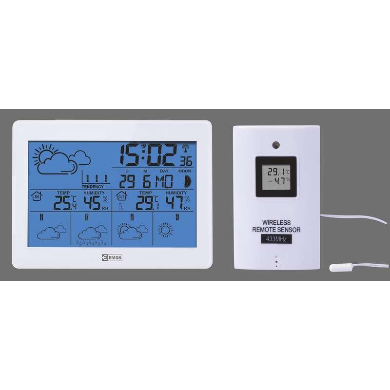 Domácí bezdrátová meteostanice E5068