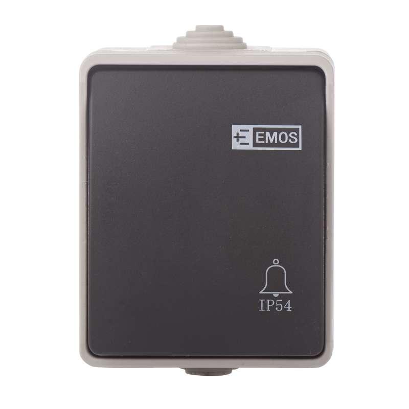 Ovládač tlačítkový 1/0 IP54
