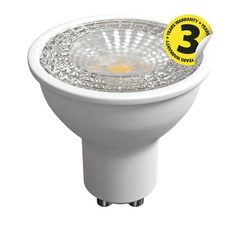 LED žárovka Premium MR16 6,3W GU10 teplá bílá