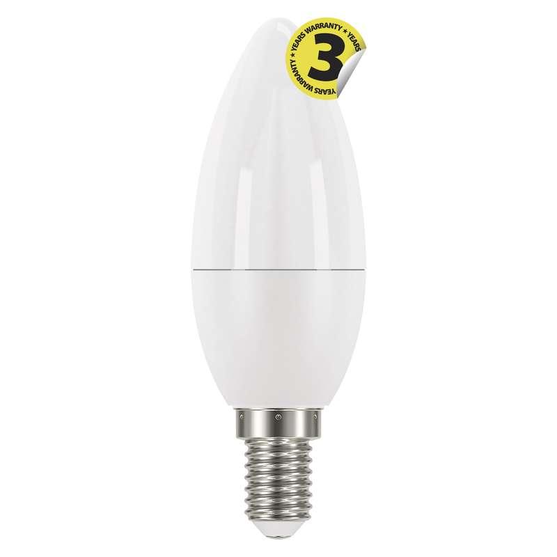 LED žárovka Classic Candle 6W E14 studená bílá