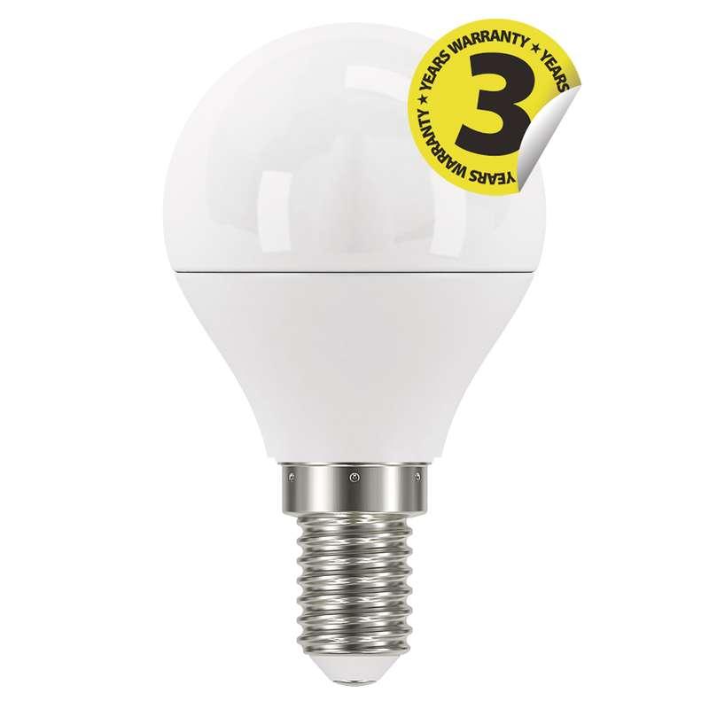 LED žárovka Classic Mini Globe 6W E14 studená bílá