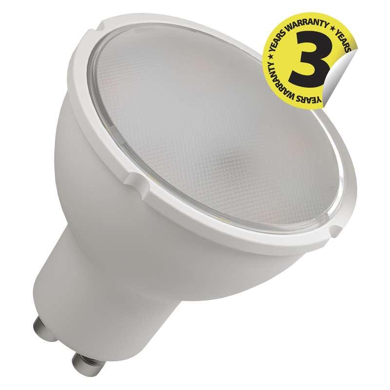 LED žárovka Classic MR16 8W GU10 teplá bílá