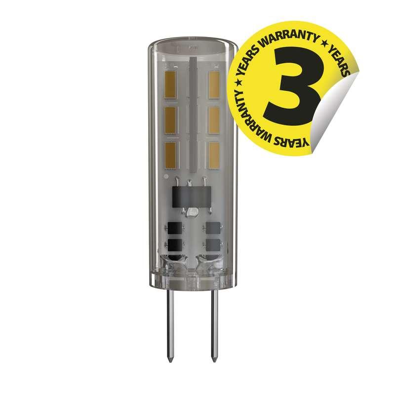 LED žárovka Classic JC A++ 1,3W G4 teplá bílá
