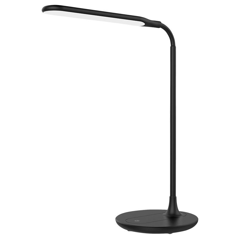 Solight LED stolní lampička stmívatelná, 6W, 4500K, černá
