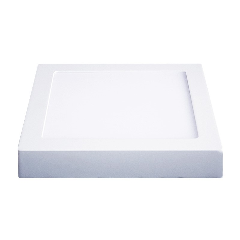 Solight LED panel přisazený, 18W, 1530lm, 3000K, čtvercový, bílý