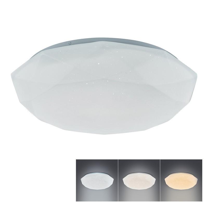 Solight LED osvětlení DIAMANT, volitelná chromatičnost, 18W, 1350lm, IP20