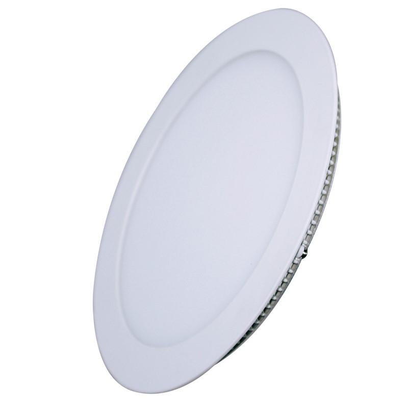 Solight LED mini panel, podhledový, 6W, 400lm, 4000K, tenký, kulatý, bílý
