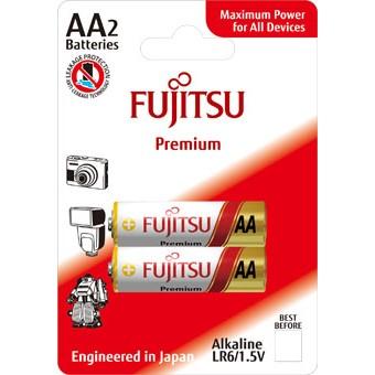 Fujitsu Premium Power alkalická baterie LR06/AA, blistr 2ks