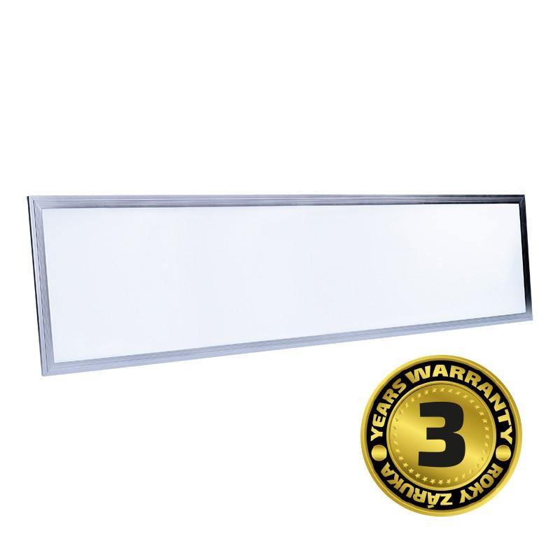 Solight LED světelný panel, 40W, 3200lm, 4100K, Lifud, 30x120cm, 3 roky záruka