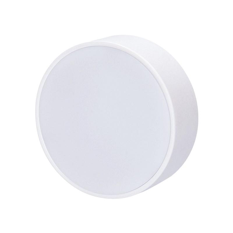 Solight LED panel s tenkým rámečkem, 16W, 1280lm, 4000K, přisazený, kulatý, bílý