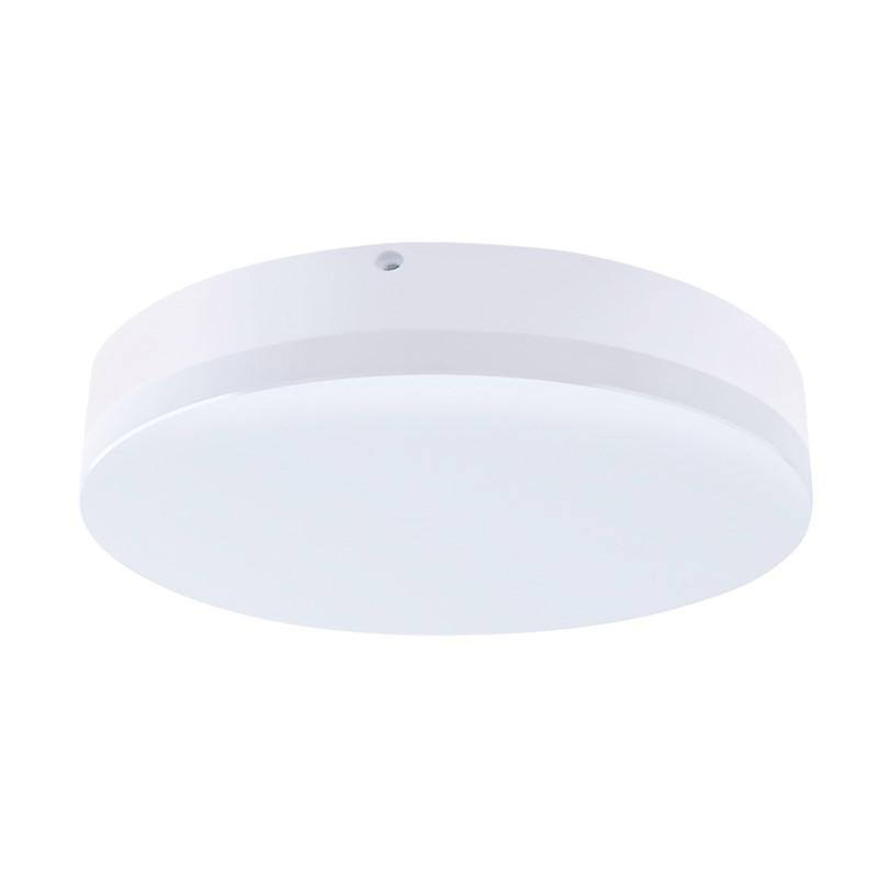 Solight LED venkovní osvětlení, přisazené, kulaté, IP44, 24W, 1800lm, 4000K, 28cm