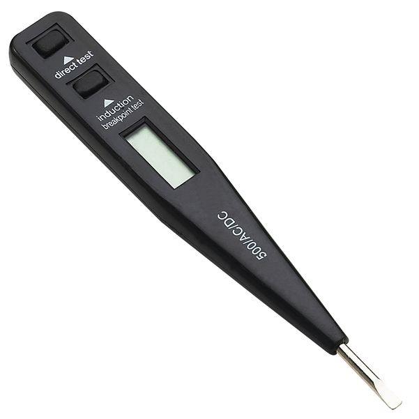 Solight zkoušečka, LCD, C napětí: 12 - 230V