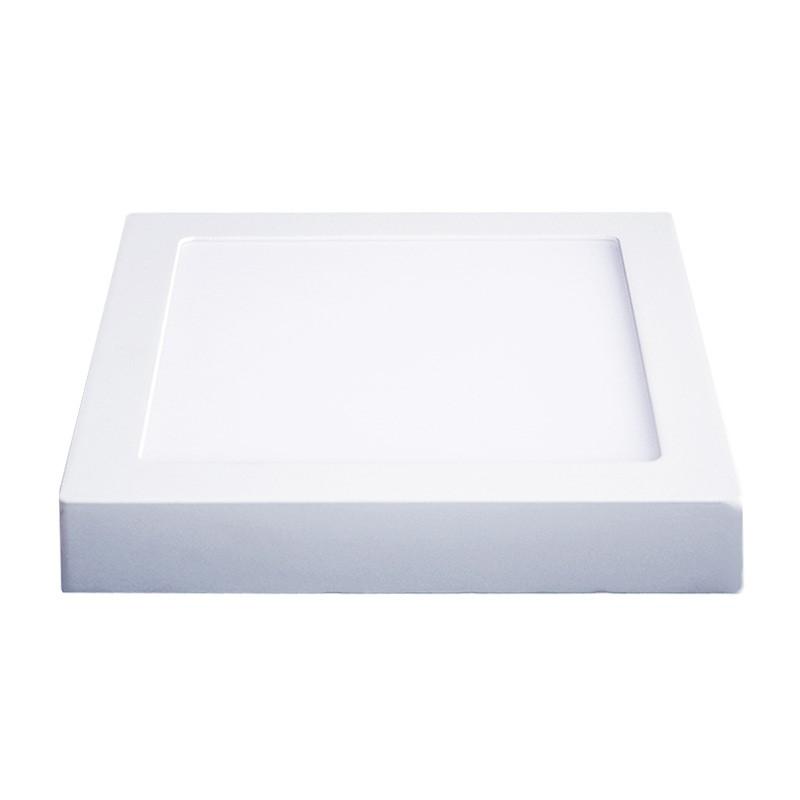 Solight LED panel přisazený, 12W, 900lm, 4000K, čtvercový, bílý