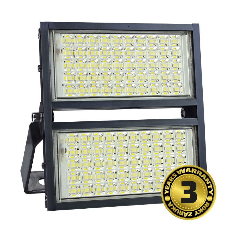 Solight LED venkovní reflektor Pro+, 100W, 11000lm, 5000K, AC 230V, černá
