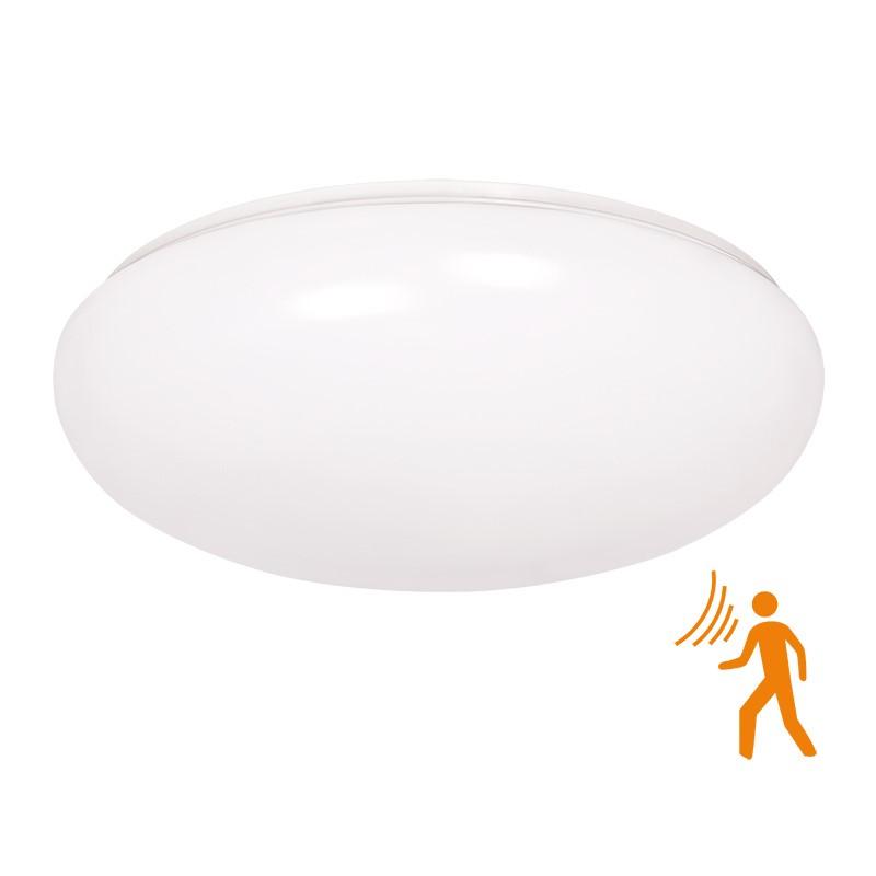Solight LED venkovní osvětlení se senzorem, přisazené, 18W, 1260lm, IP44, 4100K, 40cm