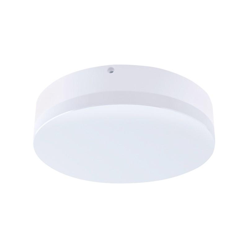 Solight LED venkovní osvětlení, přisazené, kulaté, IP44, 15W, 1150lm, 4000K, 22cm
