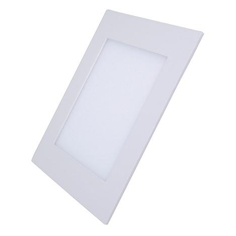 Solight LED mini panel, podhledový, 6W, 400lm, 3000K, tenký, čtvercový, bílý
