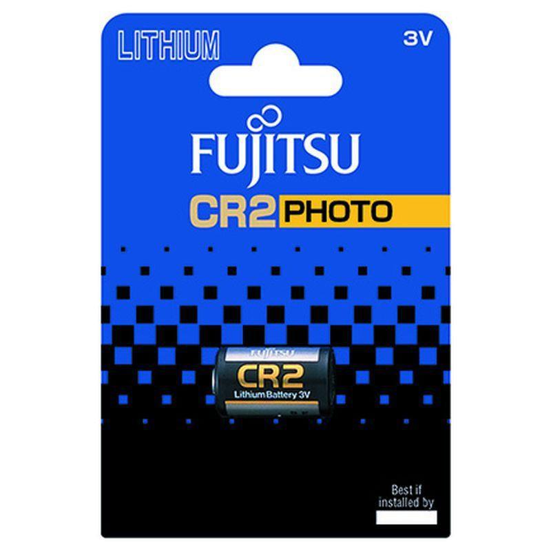 Fujitsu lithiová foto baterie CR2, blistr 1ks