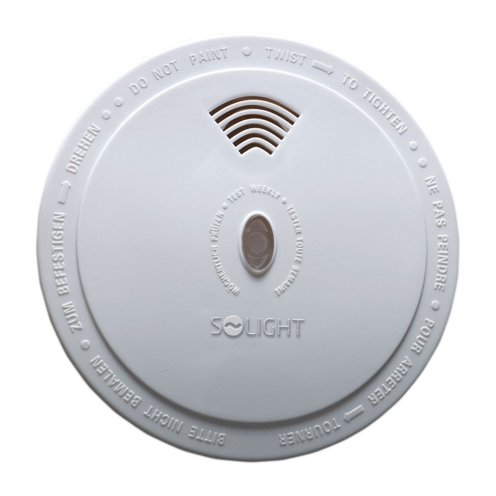 Solight detektor spalin CO, 85dB, bílý