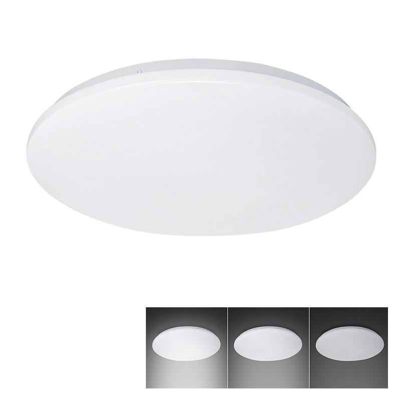 Solight LED stropní světlo, 3-stupňové stmívání, 18W, 1260lm, 4000K, kulaté, 33cm