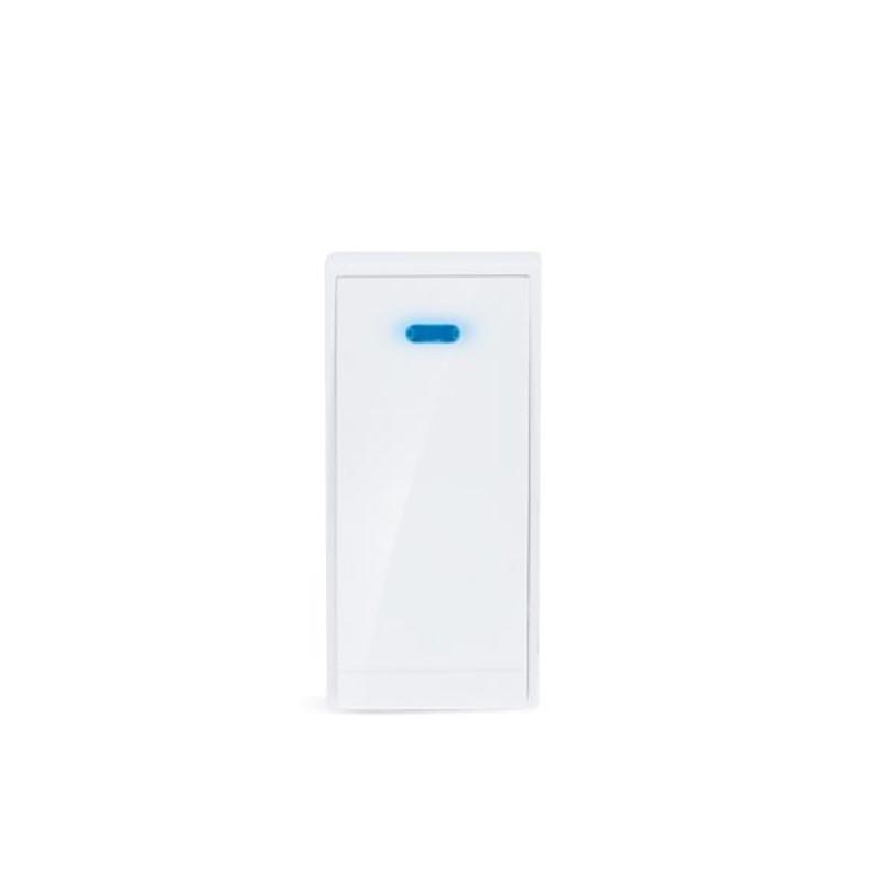 Solight bezdrátové bezbateriové tlačítko pro 1L51, 150m, bílé, learning code